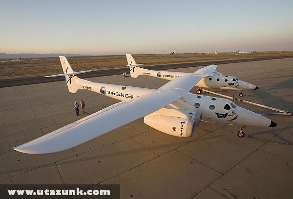 Repülõgép, amely az ûrbe viszi az embereket