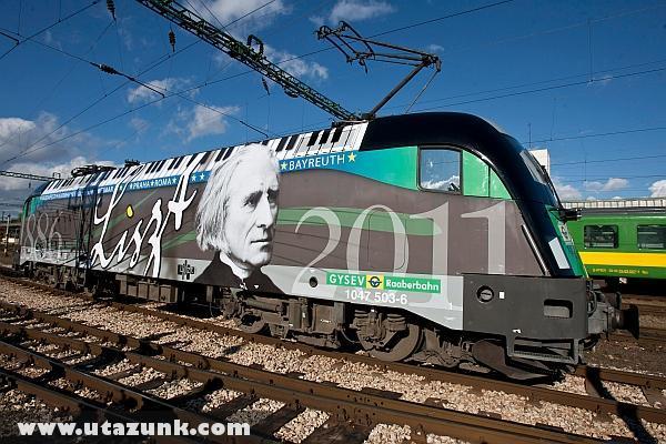 Liszt Ferenc vonat