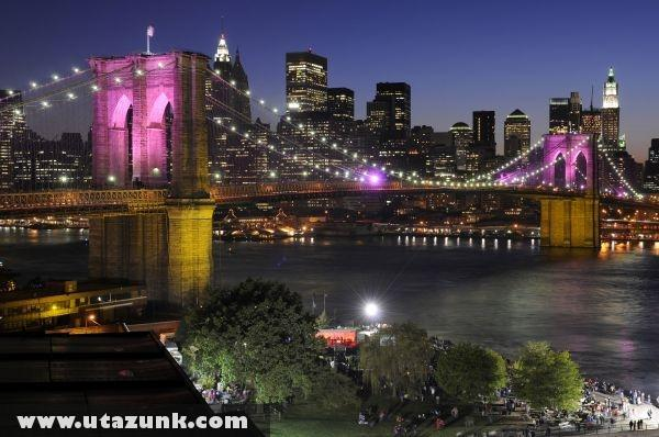 Új esti fényben New York