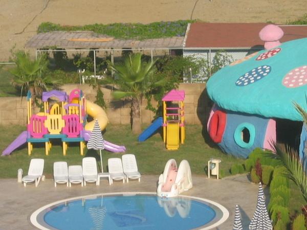 Törökországi hotel-gyermekek paradicsoma