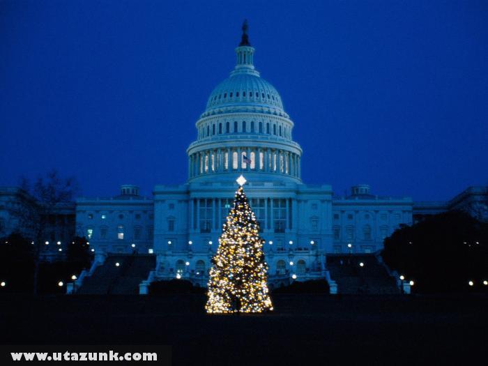 Washington karácsonyi fénye