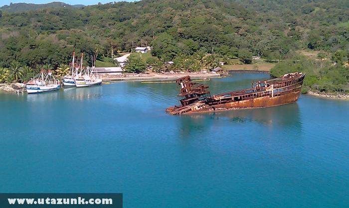 Hajóroncs a karibi térségben