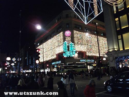 Karácsony Londonban