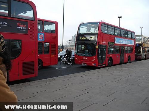 Buszok Londonban