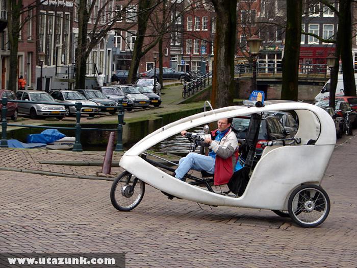 MobilBike Amszterdamban