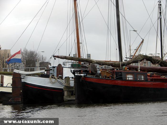Kikötõ Amszterdam városában