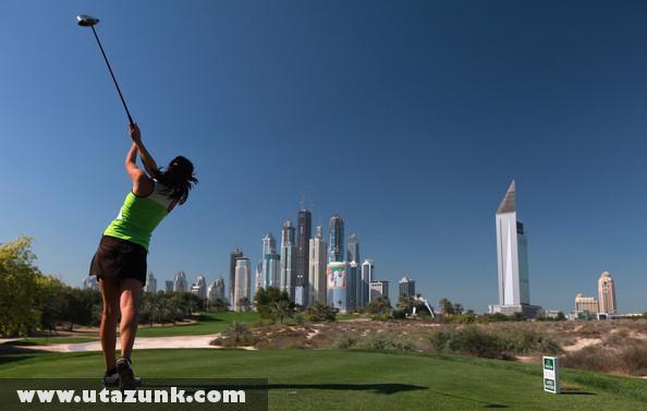 Golfozás Dubaiban