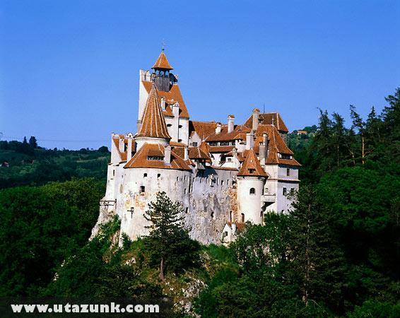 Drakula kastélya Romániában