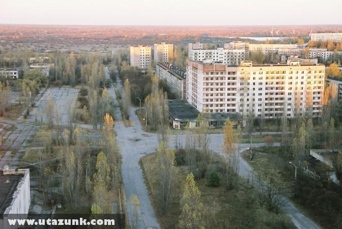 Csernobil, A halott város