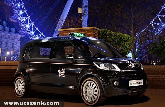 Új Taxi Londonban