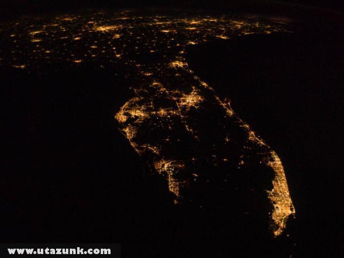 A Floridai-félsziget a Nemzetközi Ûrállomás fedélzetérõl