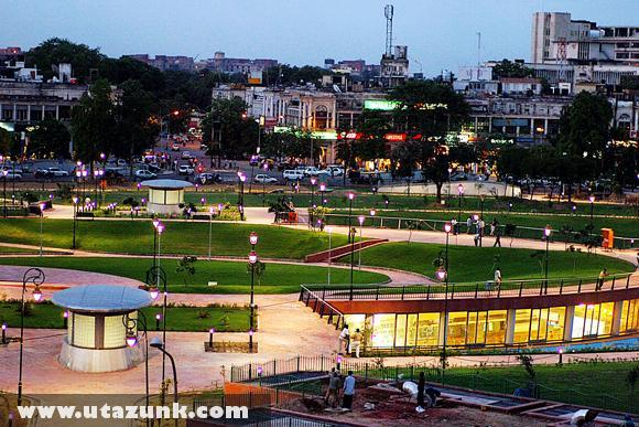 A Connaught Place Indiában