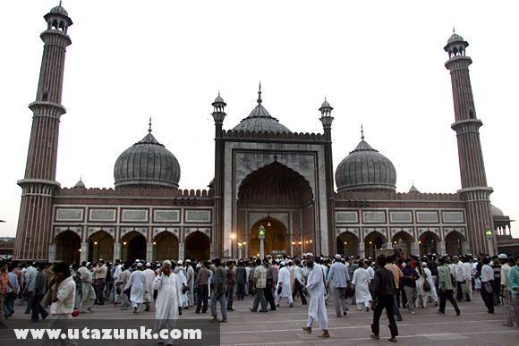 A Jama Masjid mecset Indiában