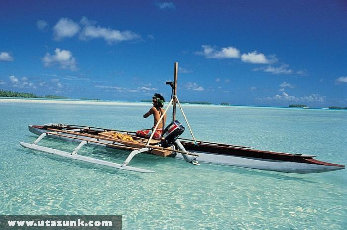 Kristálytiszta víz Tuvalu szigetén