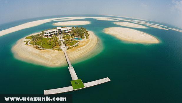 Luxus magánsziget Dubaiban