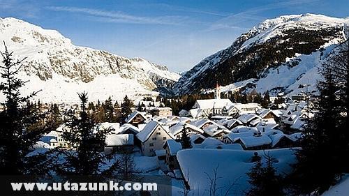Behavazott Svájci falu