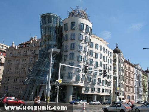 A táncoló ház Prágában