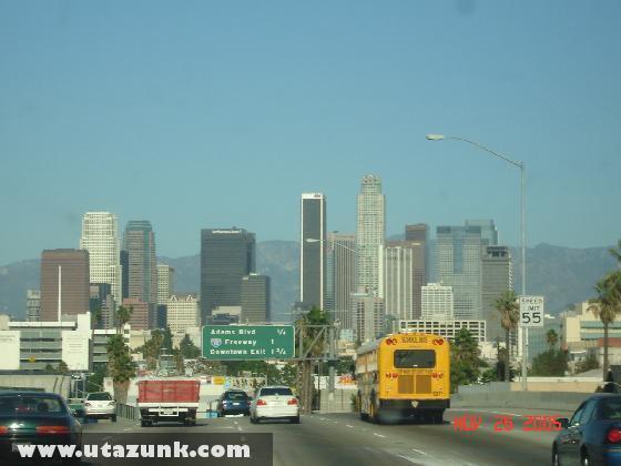 Érkezés Los Angelesbe