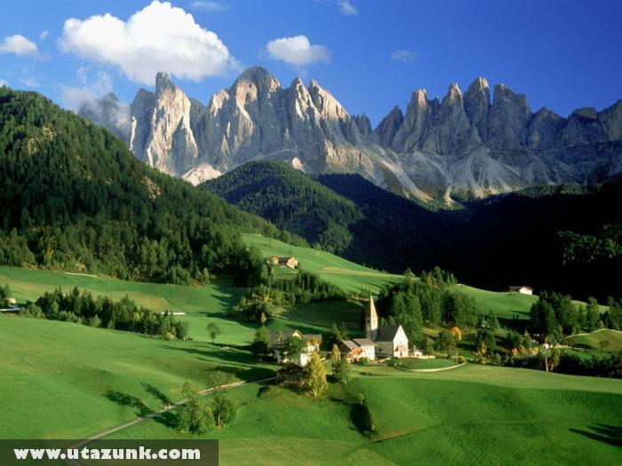 Val di funes: A tökéletes táj Olaszországban