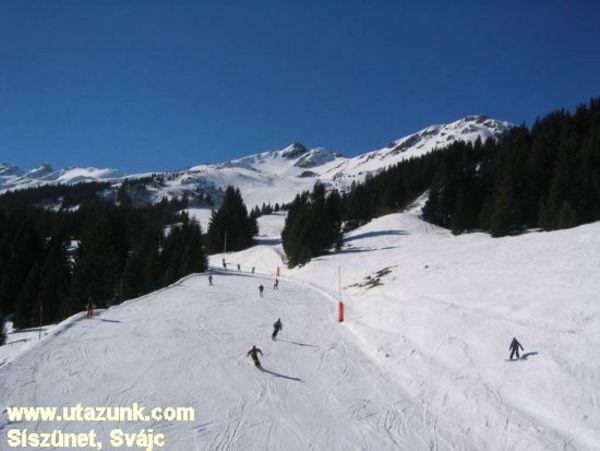 Síszünet Svájcban ;)