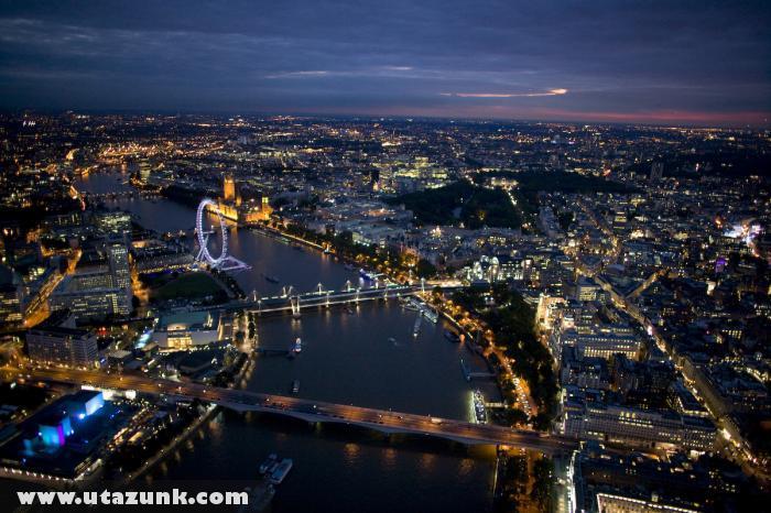 London a levegõbõl