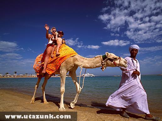 Hurghada-beach Egyiptomban