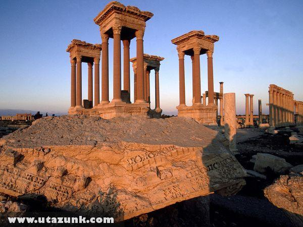 A múlt maradványai Szíriában