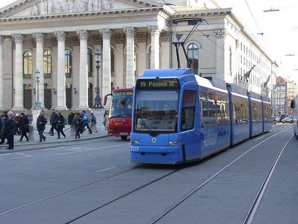 Ilyen a müncheni villamosközlekedés