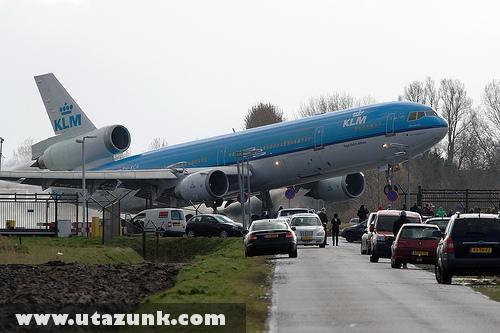 KLM: Közeli felszállás