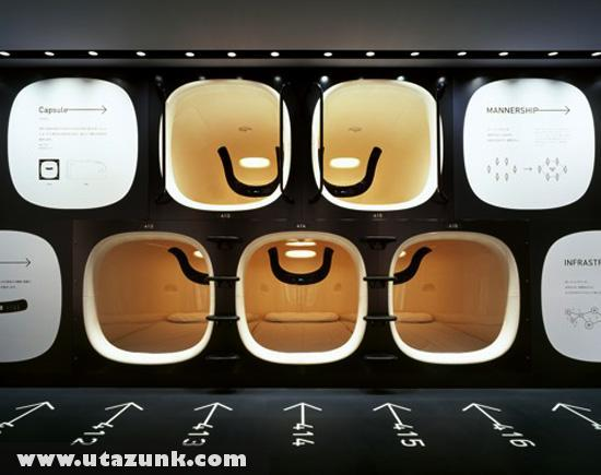 Kapszula szoba Japánban