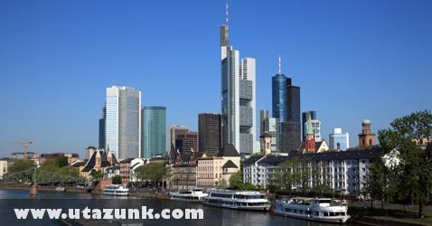 Frankfurt üzleti központja