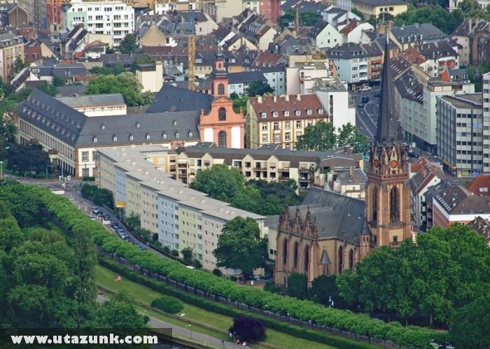 Sachsenhausen központja