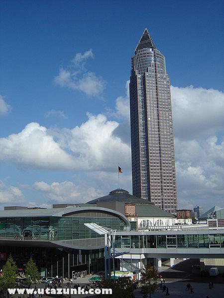 Messeturm és a Frankfurti Vásár