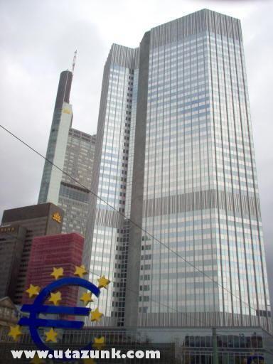 Az Európai Központi Bank épülete