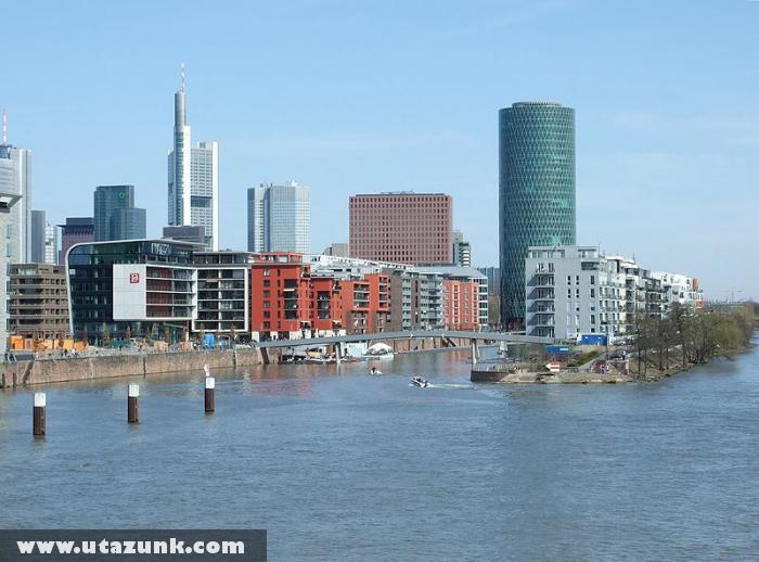 Frankfurt, A Westhafen új arca