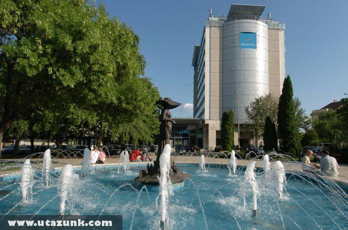 A szegedi Novotel szálloda
