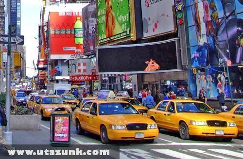 A pirosnál New Yorkban