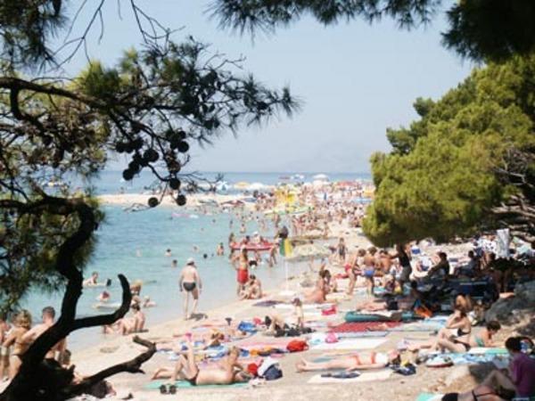 Horvátország, Makarska nyáron