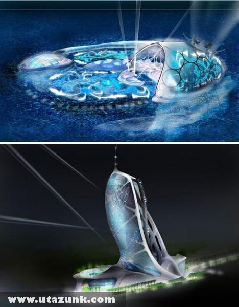 Hydropolis, az új dubai csoda