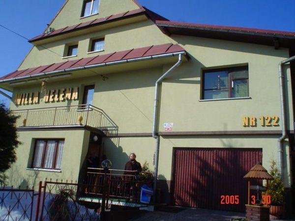 Zakopane- Willa Helena-ebben a panzióban laktunk 2005.márciusában