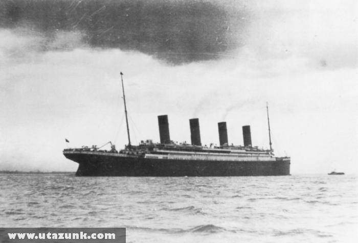 Titanic 1912: Eredeti fotó