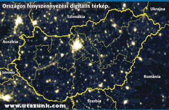 Magyarország fénytérképe