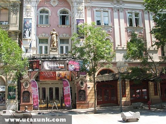 Budapest: Operett színház