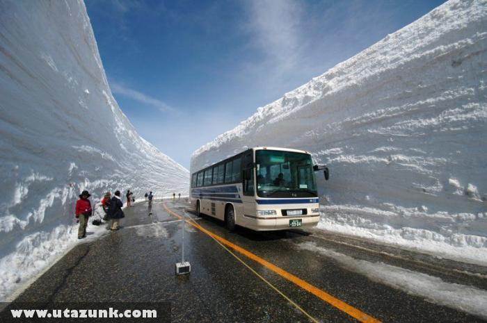 20 méteres hó japánban
