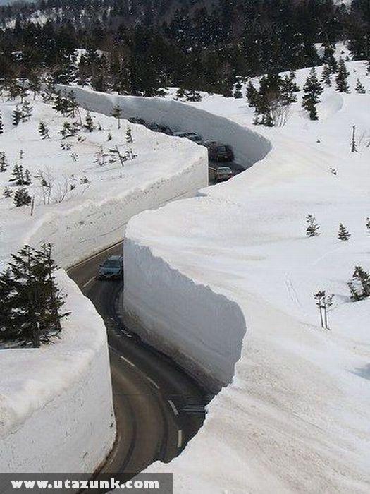 Japán: Út a hóban