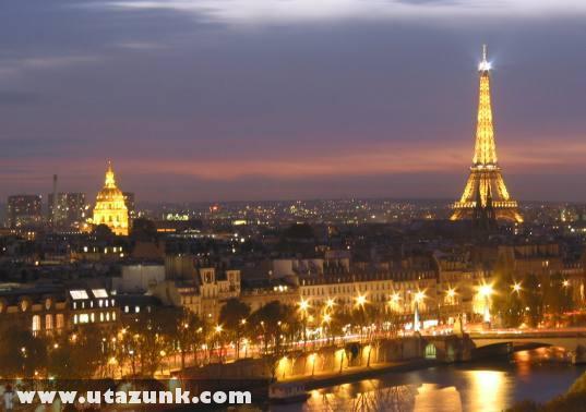 Párizs, a szerelmek városa