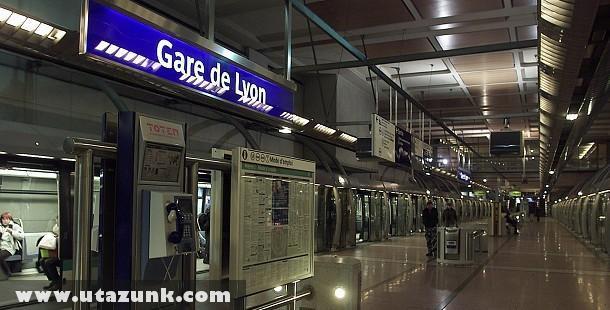 Gare De Lyon Párizsban