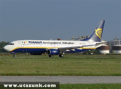 A Ryanair üzenete a konkurenciának