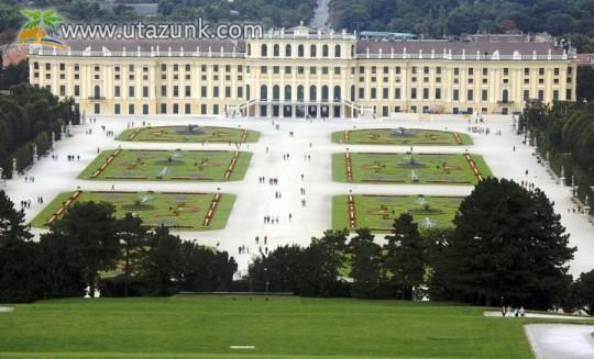 A Schönbrunni kastély Bécsben