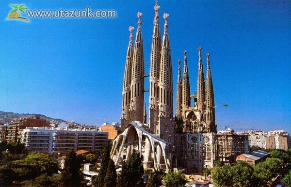 A Szent Család Temploma - Spanyolország